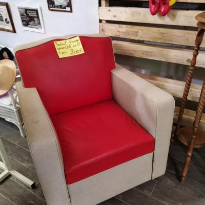 Fauteuil rouge 01