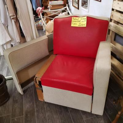 Fauteuil rouge 02